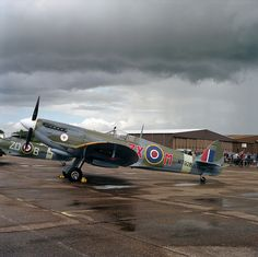 Supermarine Spitfire Mark VIII #flickr #plane #WW2
