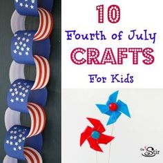 10 Fourth of July Crafts for Kids
