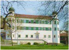 Schloss Pfünz im Altmühltal in Bayern
