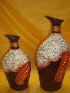 1 million+ Stunning Free Images to Use Anywhere African Paintings, African Art, Bottle Art, Bottle Crafts, Old Pottery, Clay Art Projects, Free To Use Images, Altered Bottles, Woodworking Patterns