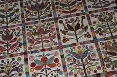 Stitch by Stitch: lollypop trees applique