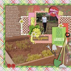 Poppy Digital Scrapbook Templates