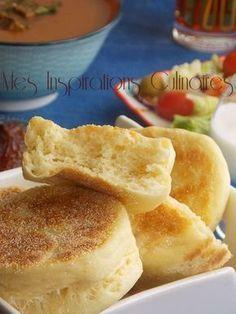 Ramadan recipes 672303050594280126 - matloua a la farine a la poele Source by desfourschriste My Recipes, Cooking Recipes, Pancake Recipes, Algerian Recipes, Good Food, Yummy Food, Ramadan Recipes, Arabic Food, Croissants
