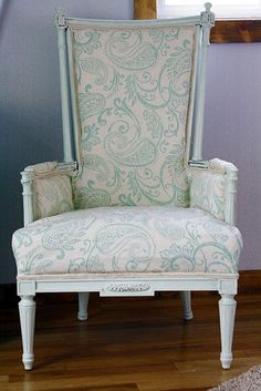 Updated French Style Chair Yesteryear For Today