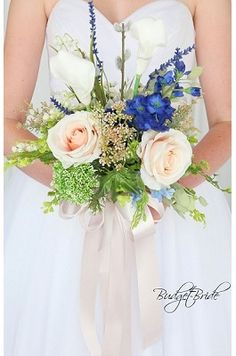 Custom Made Wedding flowers to match Davids Bridal colors. Design the perfect brides bouquet for yourself, your groom and your bridesmaids! Spring Wedding Bouquets, Spring Wedding Flowers, Flower Bouquet Wedding, Green Wedding, Bride Flowers, Bridesmaid Flowers, Bride Bouquets, Budget Bride, Davids Bridal