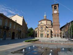 Legnano, La Piazza San Magno e la sua Basilica, oggi. #Piazza #Centro #Legnano #Città