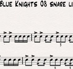 Snare - Google Drive  DCI, DCA, etc Snare Pieces
