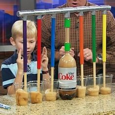 Science fair experiments.. Because you never know when your kid will need an idea - Click image to find more diy & crafts Pinterest pins