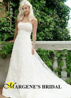 Marcy Strapless Wedding Dress :: Margene's Bridal
