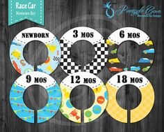 Baby Boy Closet Dividers to Organize Clothing for Baby Room | Race Car, Vroom