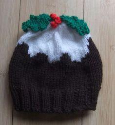 Knitting Pattern Christmas Pudding Hat Baby : mariannas lazy daisy days: Christmas Pudding Hat Knitting Pinterest ...