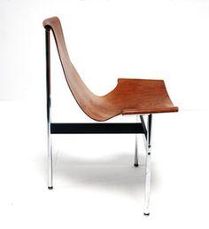 // T-Chair 3LC Design 1952 by William Katavalos e.o.