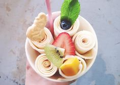 Montreal Opens First-Ever Thai Rolled Ice Cream Shop