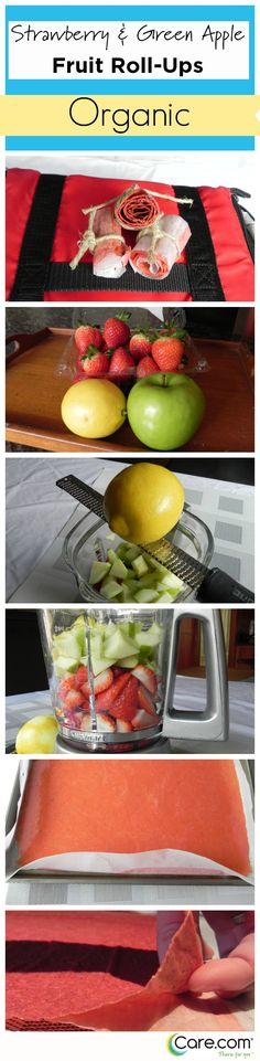 Unsere Freunde von Care.com zeigen wie selbstgemachte Fruchtschnitten funktionieren.