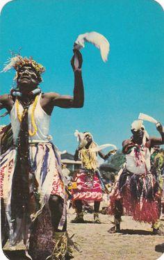 NOUMEA [New Caledonia] , Pilou-Pilou Dance , 50-60s