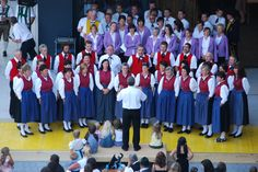 Paznaun aufmarschiert 2009 Kirchenchor Kappl