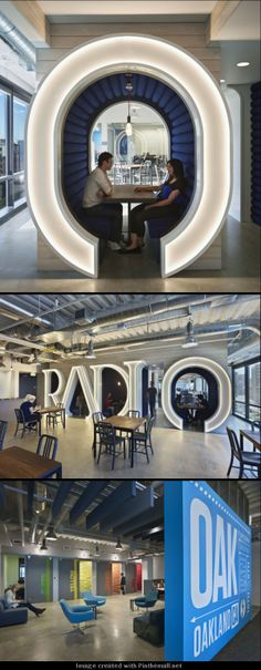 Pandora Office - by Studios #environmentaldesign #graphicdesign #typography…