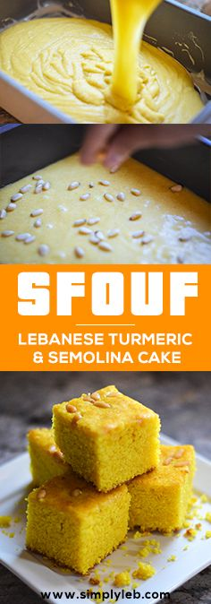 (Lebanese Turmeric Cake) Sfouf - this looks amazing! Easily made vegan too by swapping out the milkSfouf - this looks amazing! Easily made vegan too by swapping out the milk Arabic Dessert, Arabic Sweets, Arabic Food, Ramadan Recipes, Sweets Recipes, Cake Recipes, Cooking Recipes, Lebanese Desserts, Lebanese Recipes