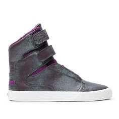 SUPRA WMNS SOCIETY II | PURPLE/GREEN - WHITE | Official SUPRA Footwear Site