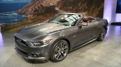 2015 Ford Mustang Convertible Price, Review  The 2015 Ford Mustang Convertible blends the old and new Mustang versions. Whereas its predecessor was a basic car with a chopped roof, the new convertible can take different looks depending on the driver's tastes.
