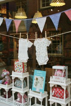 Cath Kidston (Cath Kids) and Baby Window Display 2013 | La Maison