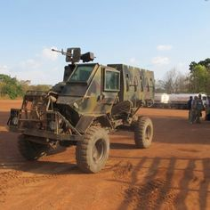 Ran into this thing on the Sudan CAR Boarder filled with South African Mercs. The V hull, for blast dispersion and open top for hot conditions. Called the Mule.