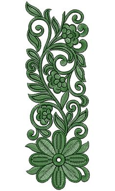 Border Embroidery Designs, Cutwork Embroidery, Machine Embroidery Designs, Embroidery Patterns, Stencil Patterns, Textile Patterns, Weaving Art, Paisley Pattern, Fabric Painting