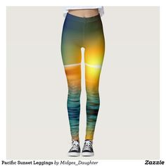 Pacific Sunset Leggings