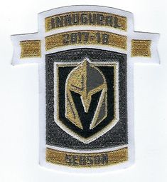 822d52b184c 2017 Vegas Golden Knights Inaugural NHL Season Embroidered Jersey Patch