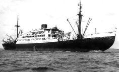 21 juli 1934 Doop en tewaterlating van het ms 'Jagersfontein'   http://koopvaardij.blogspot.nl/2015/07/21-juli-1934.html