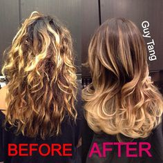 Ombre Hair - Color correction ombré