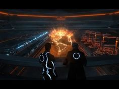 """▶ CGI VFX Behind the Scenes HD: """"TRON GFX: Rectifier Globe Montage"""" by - GMUNK - YouTube"""