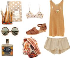 """Los Angeles"" by tarasantiago ❤ liked on Polyvore"