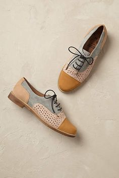 Milan Brogues - anthropologie.com