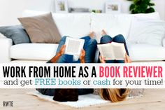 Do you love to read books?Is one of your favorite sections of the Sunday paper the book reviews?Would you yourself like to get paid to write book reviews?Well, here is a list of online work-at-h...