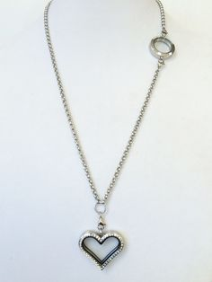 Dual Stainless Steel Locket Necklace - P2 Dream Lockets