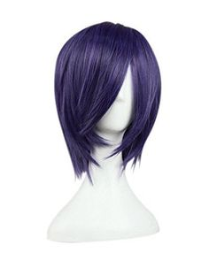 Tokyo Ghoul Touka Kirishima Cosplay Wig Purple black