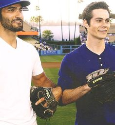 Tyler Hoechlin and Dylan O'Brien ❤