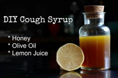 Homemade cough syrup, reportedly works better than otc.