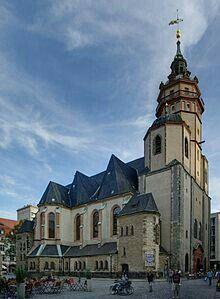 Nikolaikirche in Leipzig, Sachsen