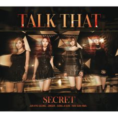 "SECRET releases ""Talk That"" MV"