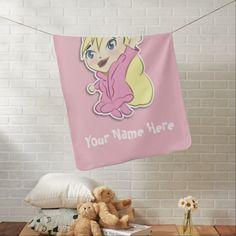 Chibi Princess Bold Baby Blanket