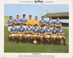 Rangers team group in Rangers Team, Rangers Football, Football Team, Team Pictures, Team Photos, Retro Football, Football Cards, John Greig, Typhoo
