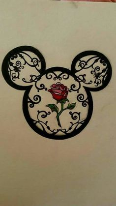 Mickey tattoo or wall decor