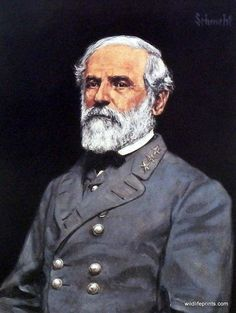 Bradley Schmehl demonstrates his skill as an historical painter in this image of ROBERT E. LEE. This famous Confederate general was able to hold off the Union army in the Civil War for 4 years, despit