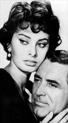 Sophia Loren and Cary Grant