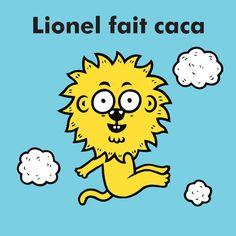 Lionel fait caca