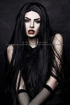 Model/MUA/Photo: Beatriz Mariano Photography Welcome to Gothic and Amazing |www.gothicandamazing.com