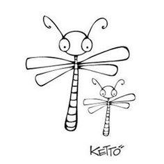Étampe - Libellule Ketto | DeSerres