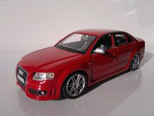 Audi A4 RS4 1/24 modelcar24´s Webseite!